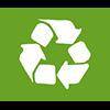 I nostri vasetti sono parzialmente fabbricati con cartone riciclato e riciclabile