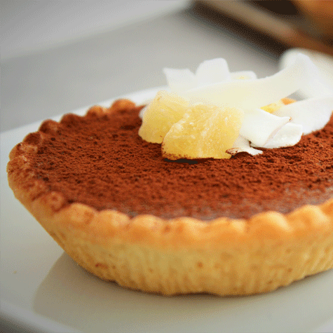 Tortine gourmand al cioccolato e canapa